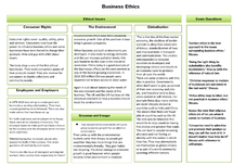 Preview of Business Ethics