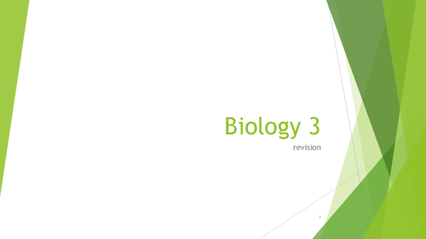 Preview of Biology 3