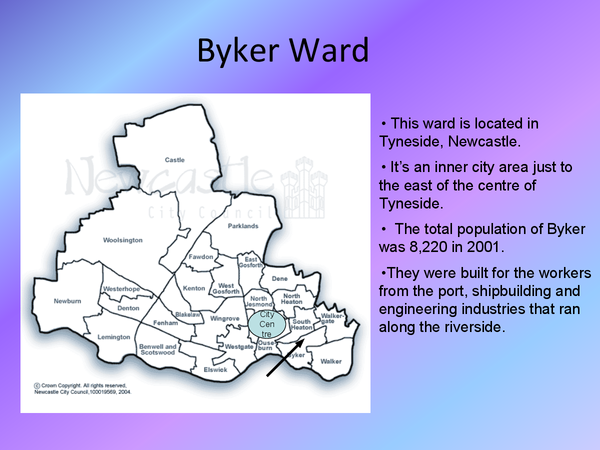 Preview of Byker Ward - Inner City