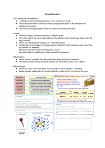 Preview of C1f - Cooking and Food additives for OCR Gateway B