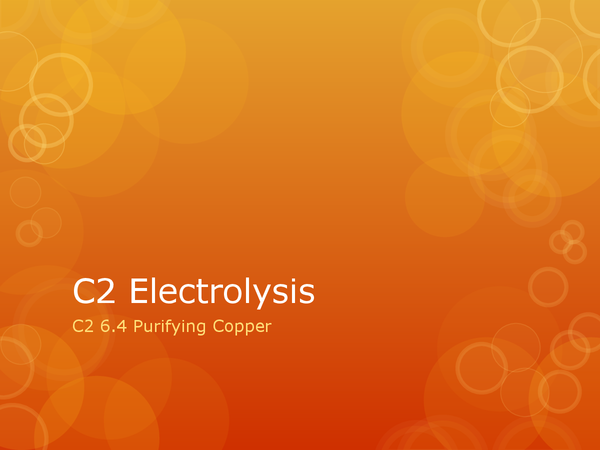Preview of C2 6.4 Purifying Copper