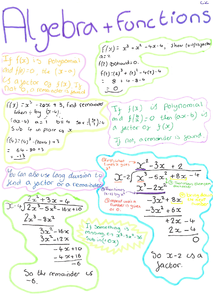 Preview of C2 maths revision notes - Edexcel