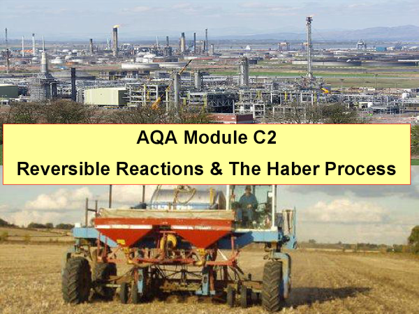 Preview of C2 - Reversible Reactions & Haber Process Revision!
