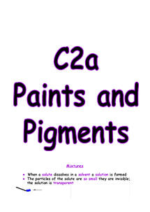 Preview of C2A REVISION NOTES