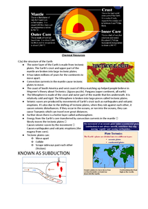Preview of C2a - The structure of the Earth for OCR Gateway B