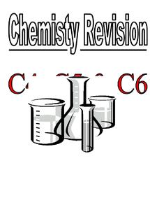 Preview of c3, c4, c5 chemistry gcse revision