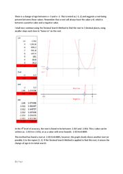 maths c3 coursework newton raphson Fixed point iteration using the newton-raphson method this coursework  represents 20% of the assessment for this module terminology you must use  the.