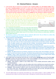 Preview of C4 - OCR 21st Century Science - Chemical Patterns