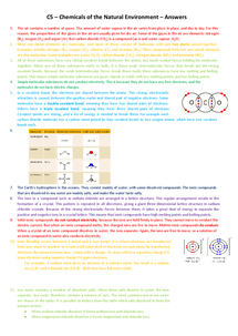 Preview of C5 - Chemistry - OCR 21st Century Science