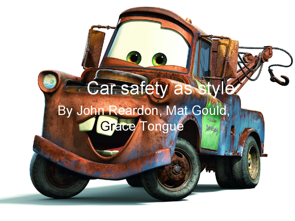 Preview of car safety fun style with all the info