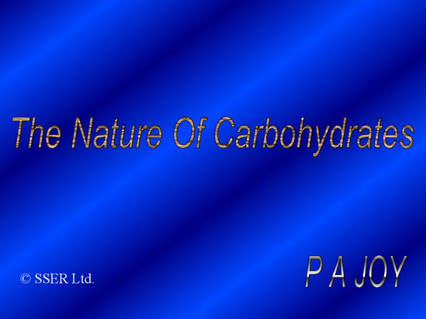 Preview of Carbohydrates (SNAB)