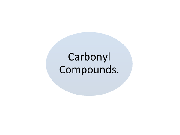 Preview of Carbonyl Compounds