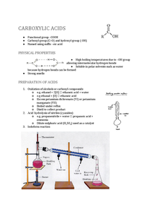 Preview of Carboxylic Acids