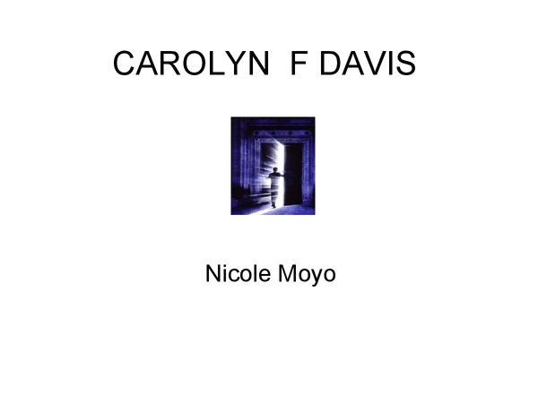 Preview of Carolyn F Davis Different Types Of Religious Experiences