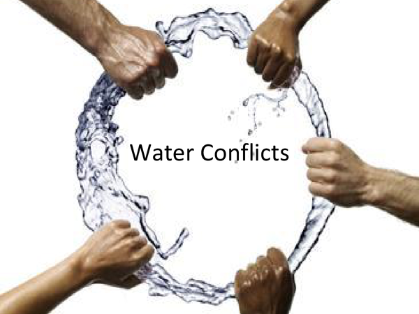 Preview of Case Studies for Water Conflicts