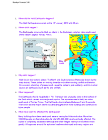 Preview of Case Study: Haiti Earthquake 2010