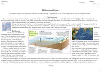 Preview of Case Study: Indonesian Earthquake/Tsunami