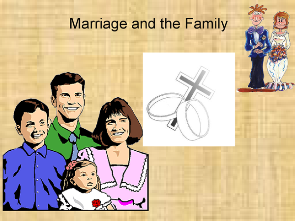 Preview of Catholic Christianity Marriage and the Family powerpoint