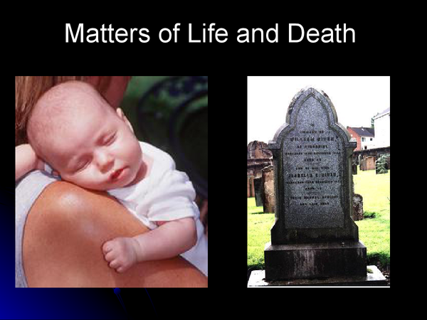 Preview of Catholic Christianity Matters of life and death powerpoint