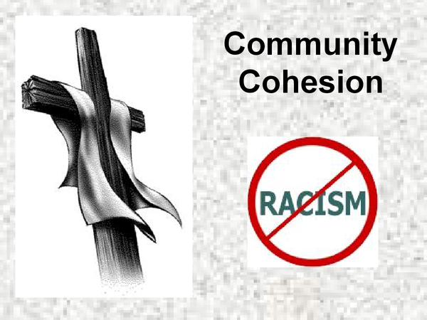 Preview of Catholic Christianity religion and community cohesion powerpoint
