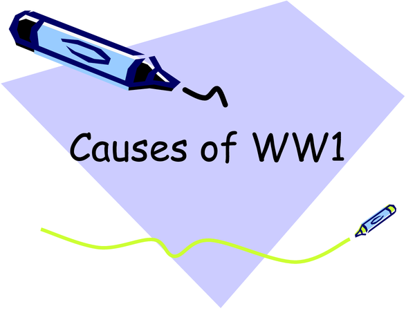 Preview of Causes of WW1