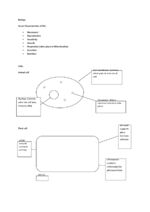 Ccea biology revision notes document in gcse biology page 1 urtaz Image collections