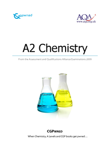 Preview of CGPwned: Your AQA A2 Chemistry Notes!