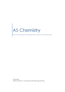 Preview of CGPwned: Your AQA AS Chemistry Notes!