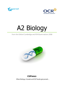 Preview of CGPwned: Your OCR A2 Biology Notes!