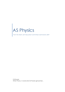 Preview of CGPwned: Your WJEC AS Physics Notes!
