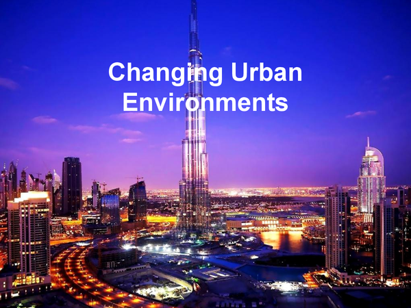 Preview of Urban Environments Revision