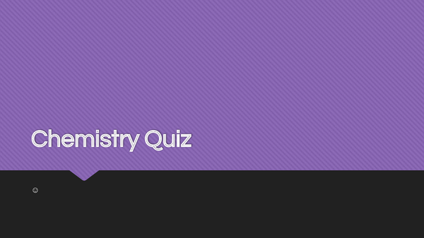 Preview of Chemistry C1,C2,C3 Quiz OCR 21st Century