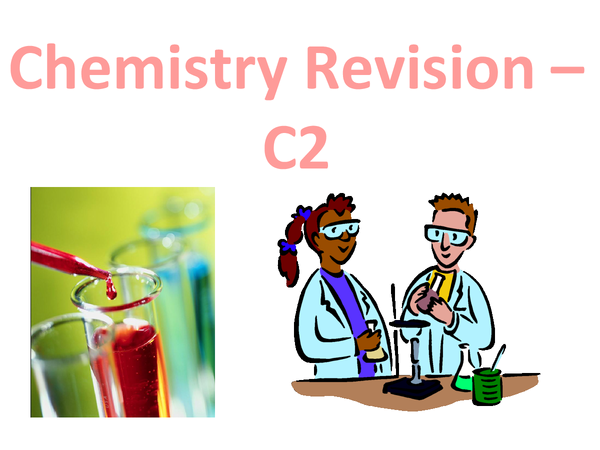 Preview of Chemistry revision - bonding