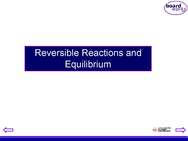 Preview of Chemistry Unit 3: Reversible Reactions