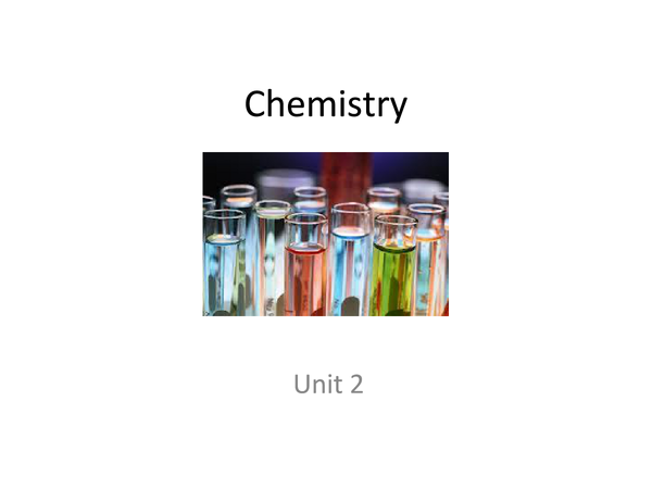 Preview of Chemisty Unit 2 powerpoint - Energetics and Kinetics