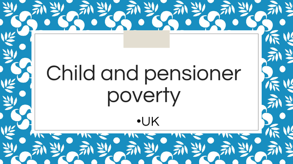 Preview of Child and Pensioner poverty in the UK