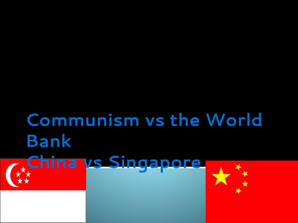 Preview of China.vs Singapore : Superpower geographies