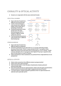 Preview of Chirality and Optical Isomerism