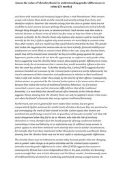 Chivalry thesis essay (21 marks) - Crime and Deviance AQA Sociology ...