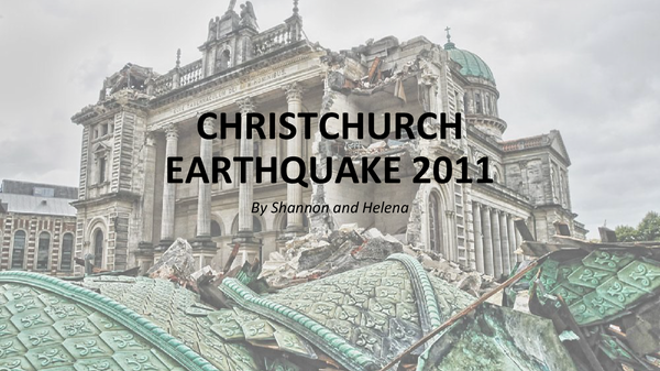 Preview of Christchurch 2011 Earthquake Case Study