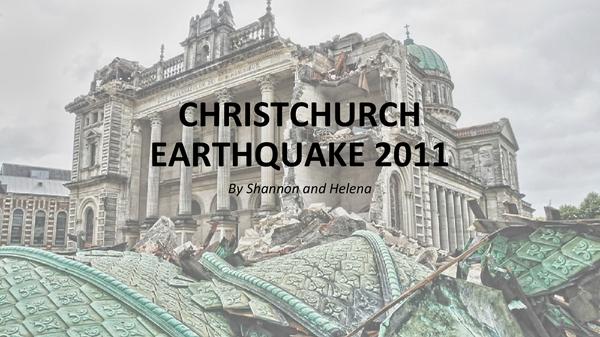 1906 + 2010: The Earthquake Blend (Part I)