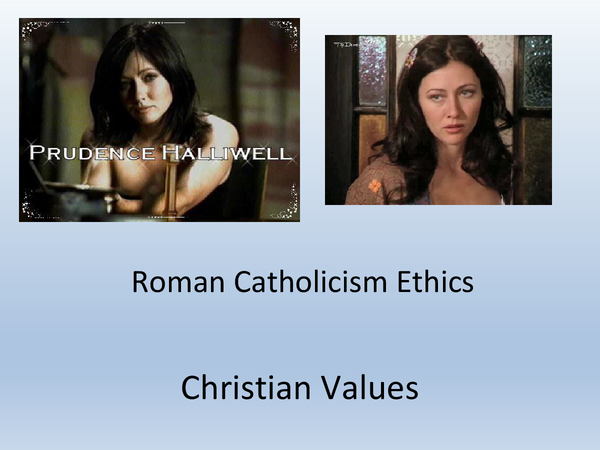 Preview of Christian Values - Topic 1 // UNIT 4