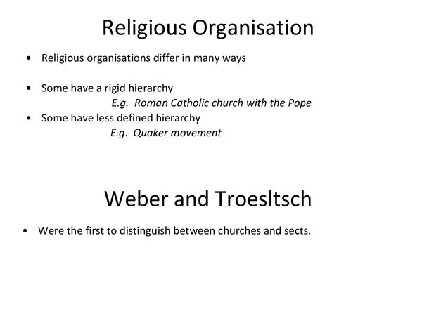 Preview of Churches, Cults, Sects, Denominations