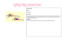Preview of Circuit training cards one