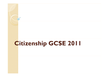 Preview of citizenship exam tips and specification
