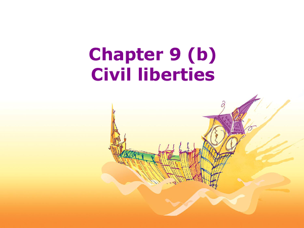 Preview of Civil Liberties
