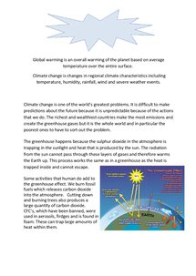 Preview of Climate Change and Greenhouse Gases