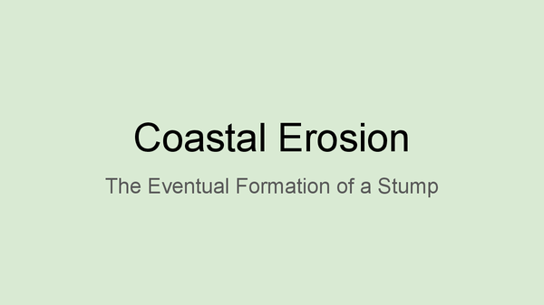 Preview of Coastal Erosion