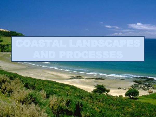 Preview of COASTAL LANDSCAPES AND PROCESSES (does not include coastal management)
