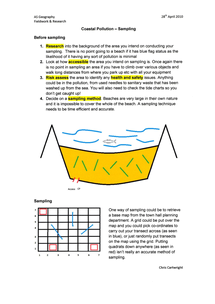 Preview of Coastal Pollution Sampling Techniques